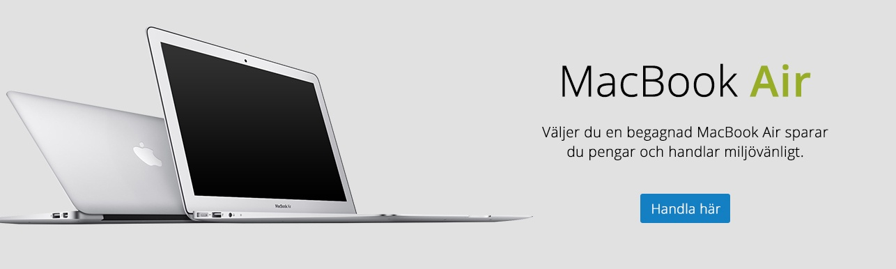 Begagnade Macbook Air