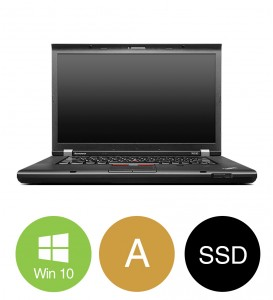 "Lenovo ThinkPad W530 - Intel i7 3630QM 2,4GHz 240GB SSD 16GB 15,6"" Win10 Pro - Grade A"