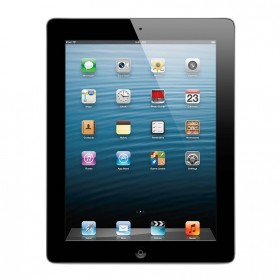 Apple iPad 4 16GB WiFi + Cellular (Svart) - Grade B + incl. Panserglas